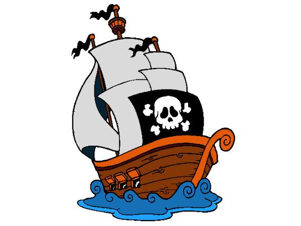 Coloriage Gratuit A Imprimer Bateau Pirate
